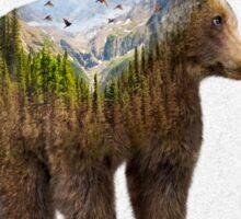 Wild I Shall Stay | Bear Sticker