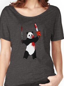 panda Women's Relaxed Fit T-Shirt