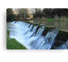 Castle Combe Waterfall Canvas Print