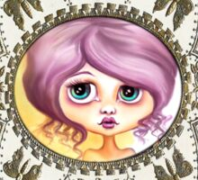 Little Lilac - Purple Hair Pastel Goth Girl Sticker