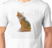 Wild I Shall Stay | Fox Unisex T-Shirt