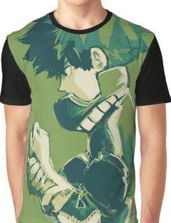 Midoriya Izuku - Boku No Hero Graphic T-Shirt