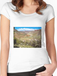 Beautiful Salt River Canyon Women's Fitted Scoop T-Shirt