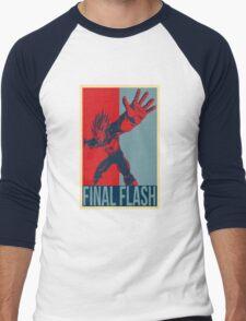FINAL FLASH - Dragon Ball Men's Baseball ¾ T-Shirt