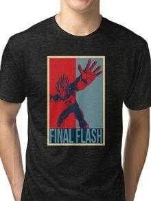 FINAL FLASH - Dragon Ball Tri-blend T-Shirt