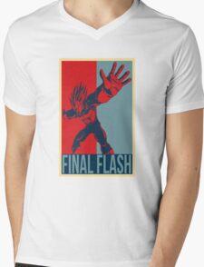 FINAL FLASH - Dragon Ball Mens V-Neck T-Shirt