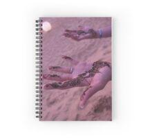 Henna Tattoos on the Beach Spiral Notebook