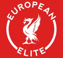 European Elite - Liverpool FC - White Kids Tee