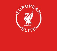 European Elite - Liverpool FC - White Unisex T-Shirt