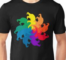 Bear Color Wheel Unisex T-Shirt