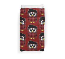 Owl Hipster 2 Duvet Cover