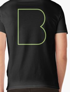 B line - Green Mens V-Neck T-Shirt