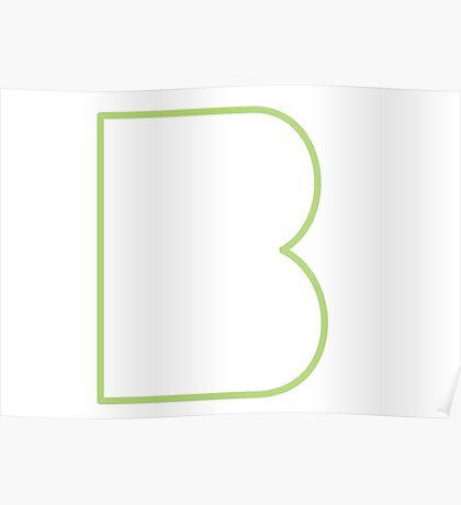 B line - Green Poster