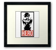 HERO - Kamina Framed Print
