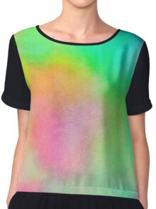 The One With Tie Dye Chiffon Top