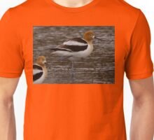 One-Legged Avocet  Unisex T-Shirt