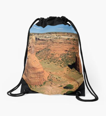 Even Though The Road Is Winding I Will Find My Way Drawstring Bag