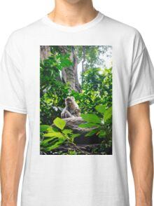 Monkey and Baby Classic T-Shirt