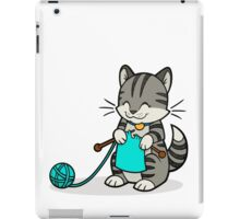 Knitty Kitty iPad Case/Skin
