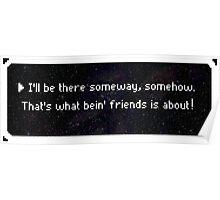 Bein' Friends Poster