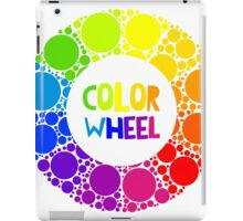Color wheel palett or color circle isolated.  iPad Case/Skin