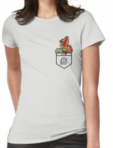 Hard to Destroy Reptile Womens Fitted T-Shirt