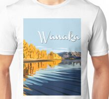Lake Wanaka, in Autumn. by Ira Mitchell-Kirk Unisex T-Shirt