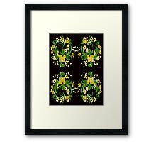 Flowers Festive #2 Framed Print