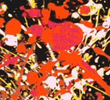 Pop- Warm (Abstract, 3 of 6) Sticker