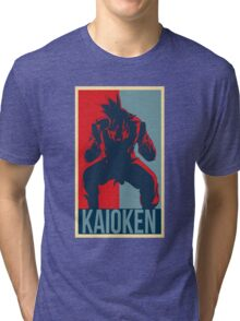 Kaioken - Dragon Ball Tri-blend T-Shirt