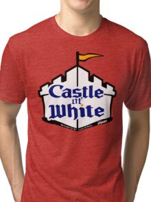 Castle Of White Tri-blend T-Shirt