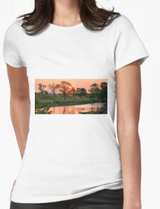 Hartgrave Creek Panorama Womens Fitted T-Shirt