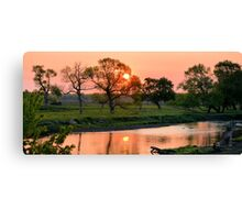Hartgrave Creek Panorama Canvas Print