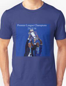 Leicester City Premier League Champions Unisex T-Shirt
