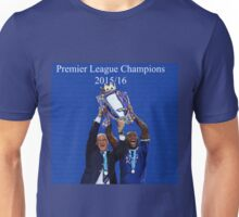 Leicester City Premier League Champions Unisex T-Shirt