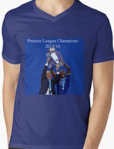 Leicester City Premier League Champions Mens V-Neck T-Shirt