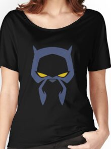 Animated Cat-lover Superhero (Negative) Women's Relaxed Fit T-Shirt