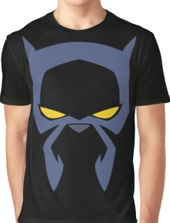 Animated Cat-lover Superhero (Negative) Graphic T-Shirt