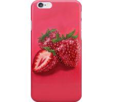 Hyper-realistic Strawberries iPhone Case/Skin
