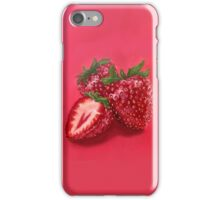 Hyper-realistic Strawberries iPhone Case/Skin