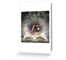 Outlander/Jamie & Claire Fraser/Book Greeting Card