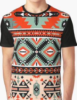 Boho Navajo Pattern Graphic T-Shirt