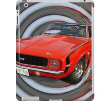 Classic Camero SS 396 Abstract iPad Case/Skin