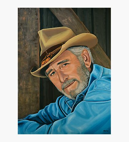 Don Williams Painting Photographic Print