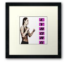 MMA Cris Cyborg Framed Print