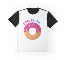 Donuts Time! Graphic T-Shirt