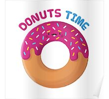 Donuts Time! Poster