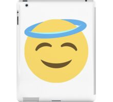 Halo emoji iPad Case/Skin