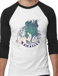 Frosty Goddess  Men's Baseball ¾ T-Shirt