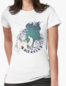 Frosty Goddess  Womens Fitted T-Shirt